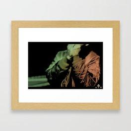 UP LATE - HARROWGROVE Framed Art Print