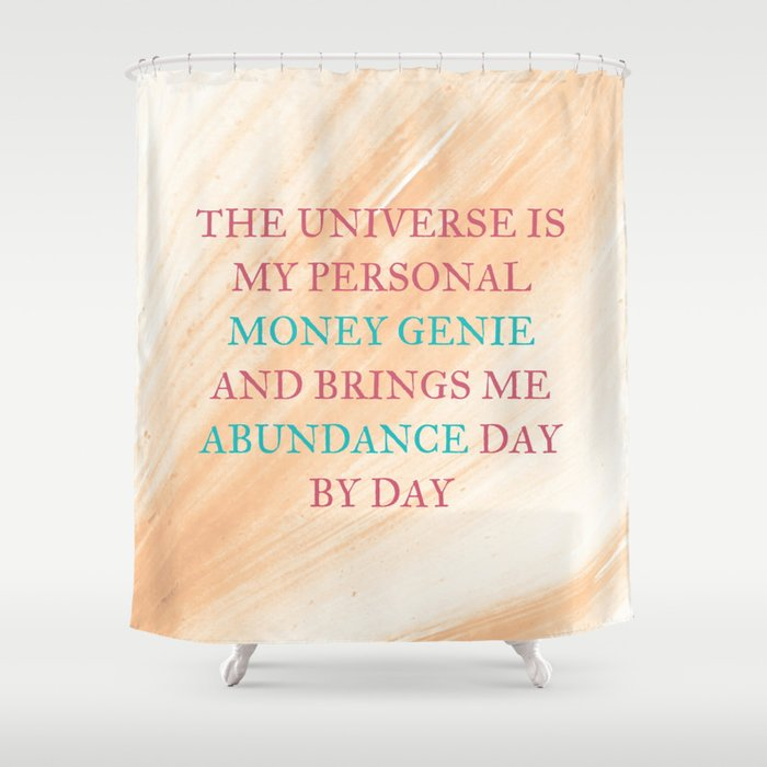 the universe is my personal money genie and brings me abundance day