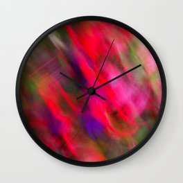 Dancers On A Windy Day Wall Clock