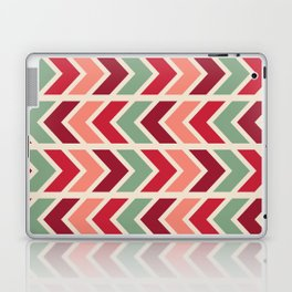 zig zag (red) Laptop & iPad Skin