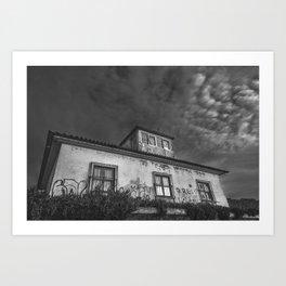 Old House II Art Print