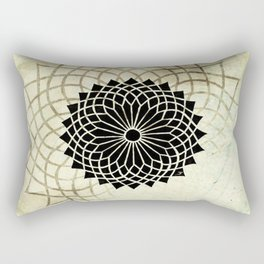 Circle String Rectangular Pillow