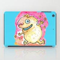 guinea pig iPad Cases featuring Guinea Pig Monster by Scalmato Studio
