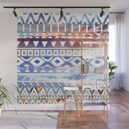 Tribal Sunsets Wall Mural