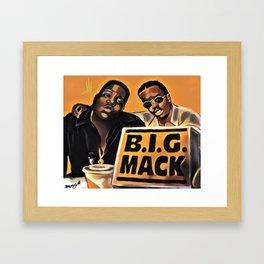 B.I.G. MACK Framed Art Print