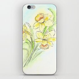 Yearning for Spring iPhone Skin