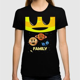 Solar System Family (to scale) T-shirt