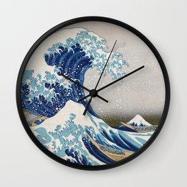 Under the Wave off Kanagawa Japanese Art Wall Clock