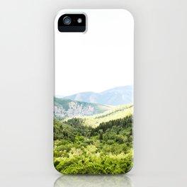Utah Mountain Valley iPhone Case
