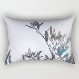 waiting the autumn Rectangular Pillow