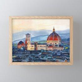 Firenze Cathedral Framed Mini Art Print