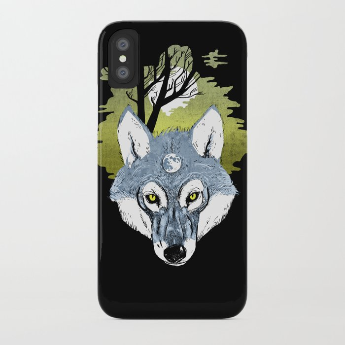 Wolf Phase iPhone Case
