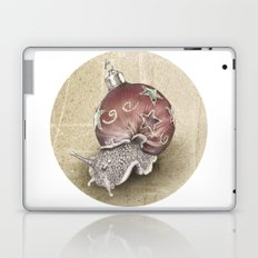 In which a snail is most festive this christmas  Laptop & iPad Skin