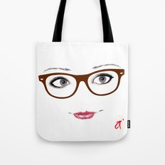 Hipster Eyes 1 Tote Bag