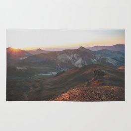 View from Wetterhorn Peak Rug