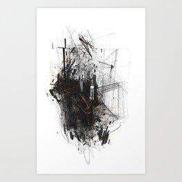 Unwelcome Gaze – Amazon 6 Art Print