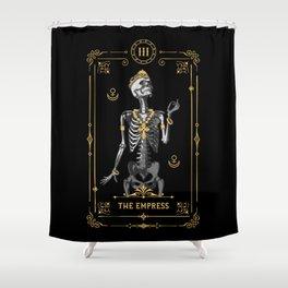 The Empress III Tarot Card Shower Curtain