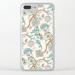 Indian Inspired Pattern Design Clear iPhone Case