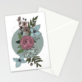 flowers in the winter Stationery Cards