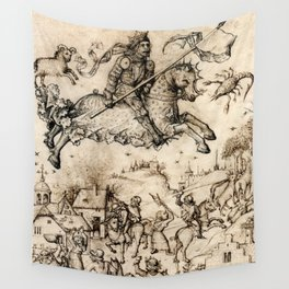 Mars and His Children Wall Tapestry