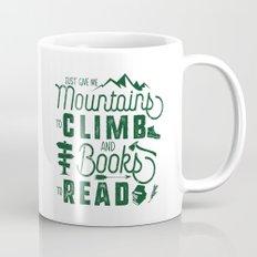 Mountains & Books Mug