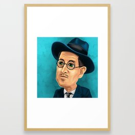 James Joyce Framed Art Print