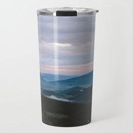 Sunset over Crested Butte Travel Mug