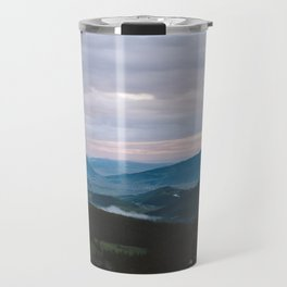 Sunset over Crested Butte Travel Mug