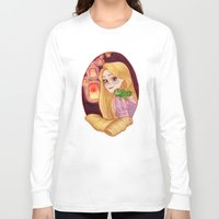 rapunzel Long Sleeve T-shirts featuring Rapunzel by Naineuh