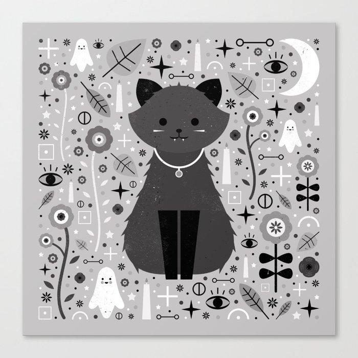 Kitten Fang  Canvas Print