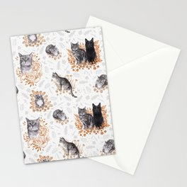 Le Chat Toile de Jouy Stationery Cards
