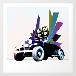 Fabmobile B Art Print