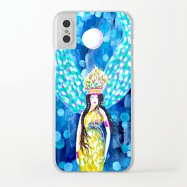 High Priestess Clear iPhone Case