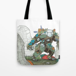 Walking Earth Tote Bag