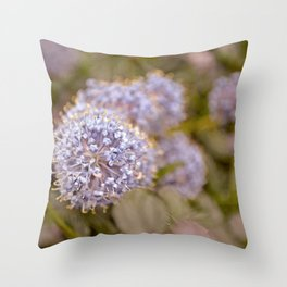 Darling Buds Throw Pillow