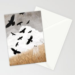 Walter and The Crows Stationery Cards