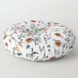 Floral pattern Flowers Floor Pillow