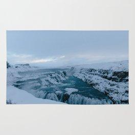 Gullfoss, Iceland Rug