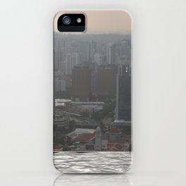 Sky High Pool iPhone Case