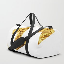 Zzzs in Gold Duffle Bag