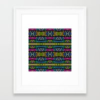 xoxo Framed Art Prints featuring XOXO by Klara Acel
