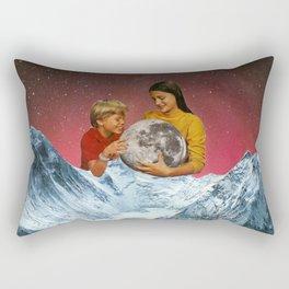 We captured the moon. Rectangular Pillow