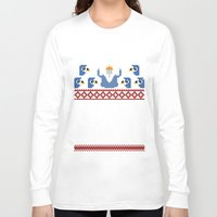 minions Long Sleeve T-shirts featuring Ice King and Minions by paperboyjim