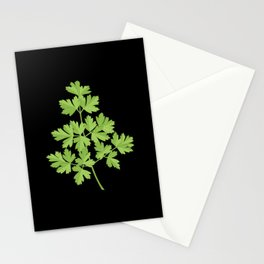 Parsley Icon Stationery Cards