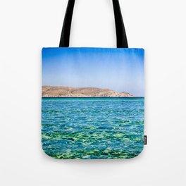 Elafonisi beach Tote Bag