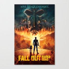 FALL OUT: RAIDER ROAD Canvas Print