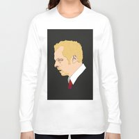 shaun of the dead Long Sleeve T-shirts featuring Simon Pegg - Shaun Of The Dead by Tomcert