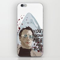 jaws iPhone & iPod Skins featuring Jaws by Colo Design