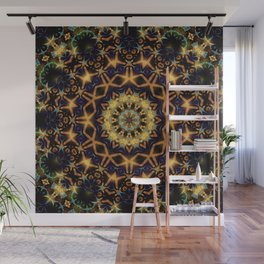 Tribal Energy Batik Mandala Wall Mural
