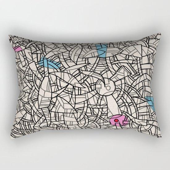 - bloc - Rectangular Pillow